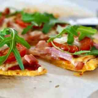 Easy Gluten-Free Sweet Potato Pizza Base!