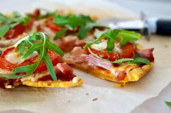 Gluten Free Sweet Potato Pizza Base
