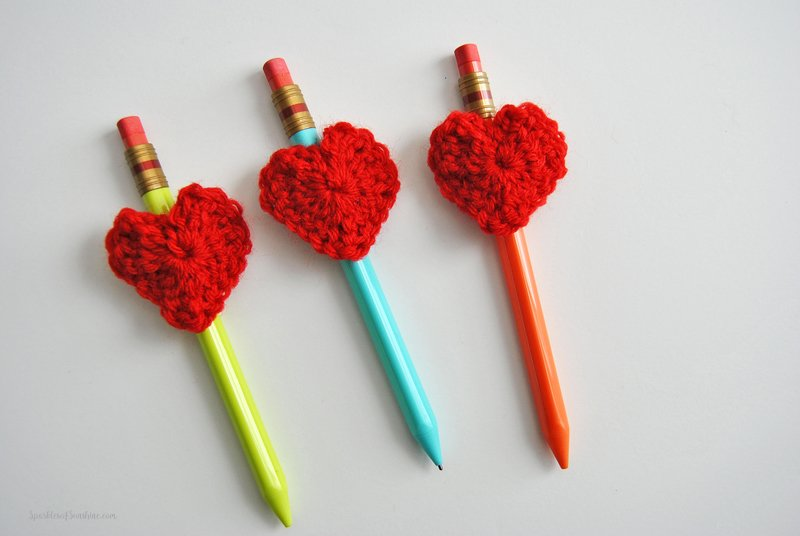 Easy Amp Free Heart Crochet Pattern For Valentines Day