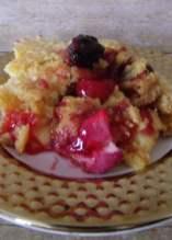 Cherry cheesecake dump cake