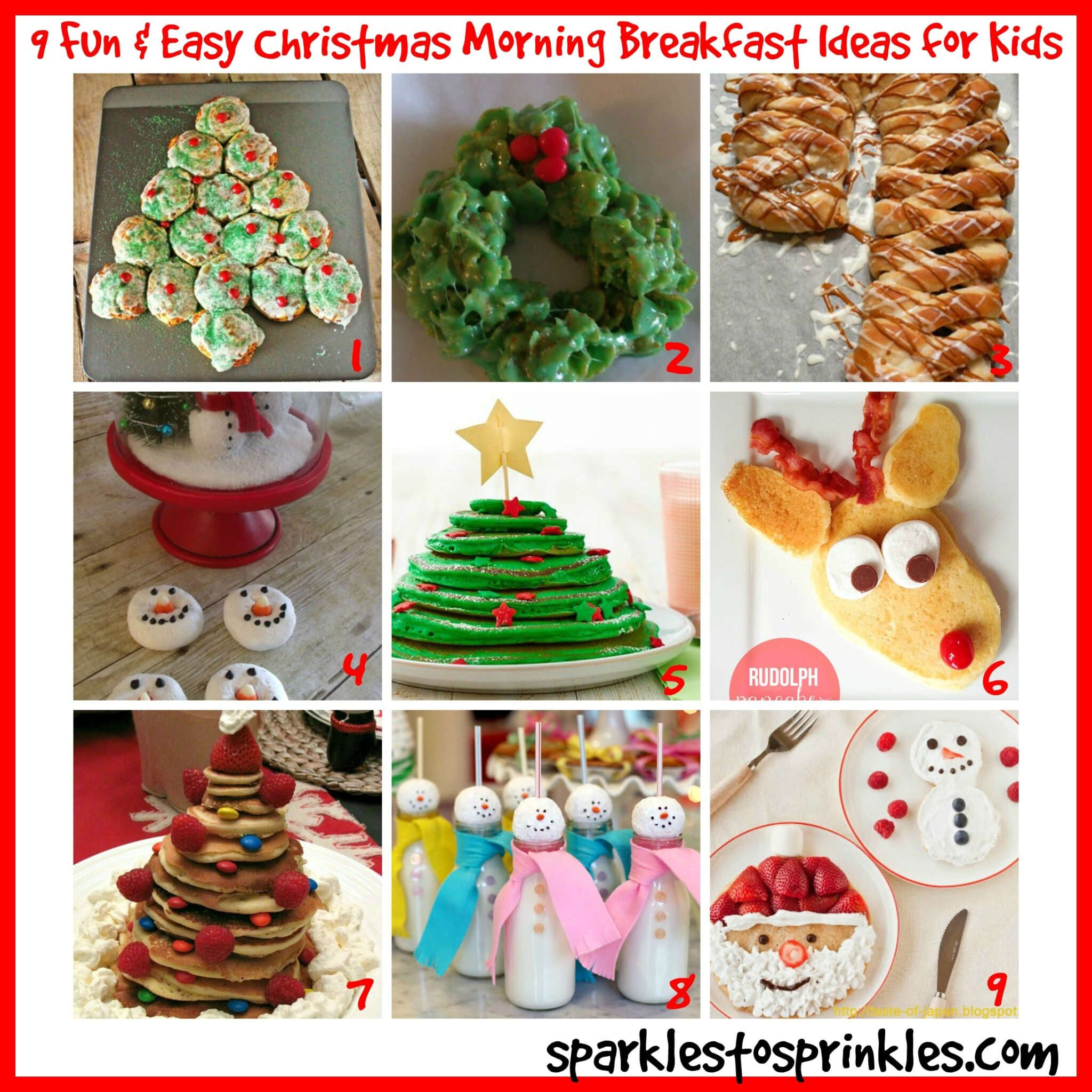 9 Fun & Easy Christmas Morning Breakfast Ideas for Kids - Sparkles ...