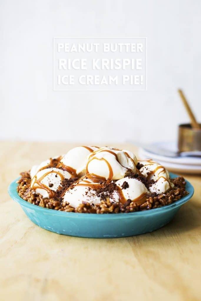 Peanut-Butter-Rice-Krispie-Ice-Cream-Pie-4