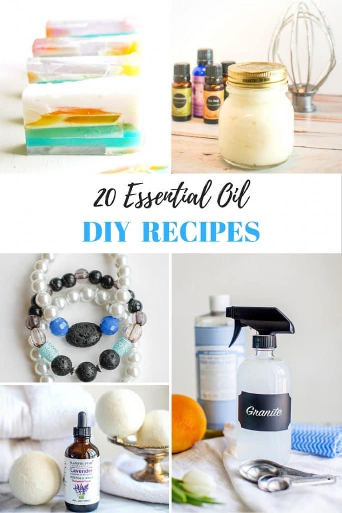 20 Essential Oil DIY Recipes - Sparkles to Sprinkles