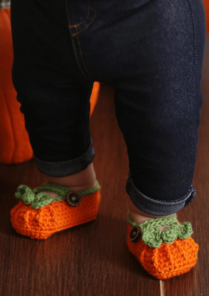 pumpkinbabyshoes
