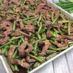 Mongolian Beef Pan Sheet Entree