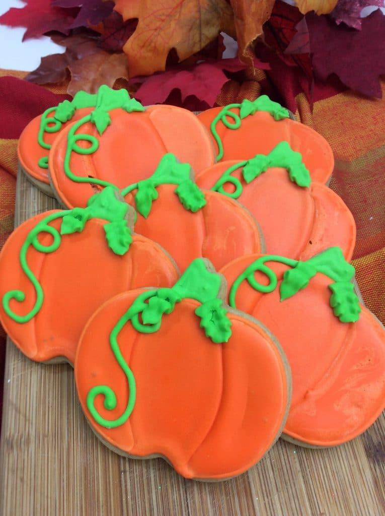 Pumpkin Spice Sugar Cookies 3