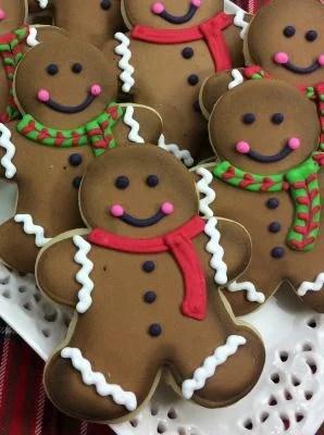Gingerbread sugar cookies 3-11