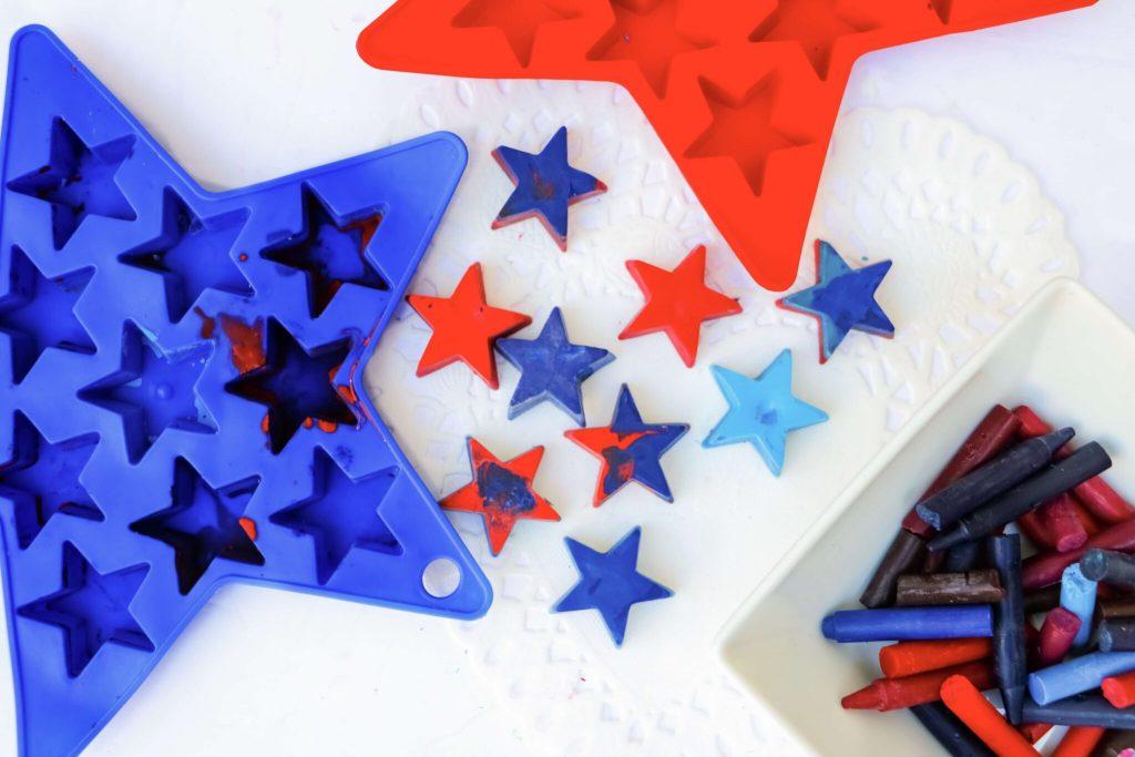 Patriotic Crayons