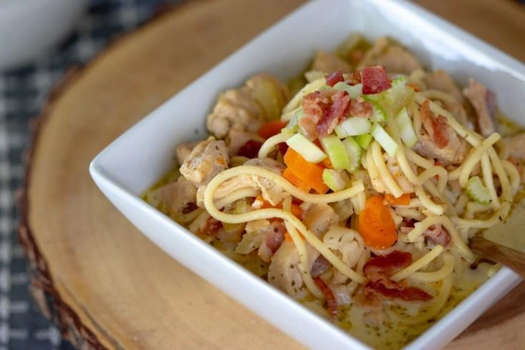 Instant Pot Crack Chicken Noodle Soup