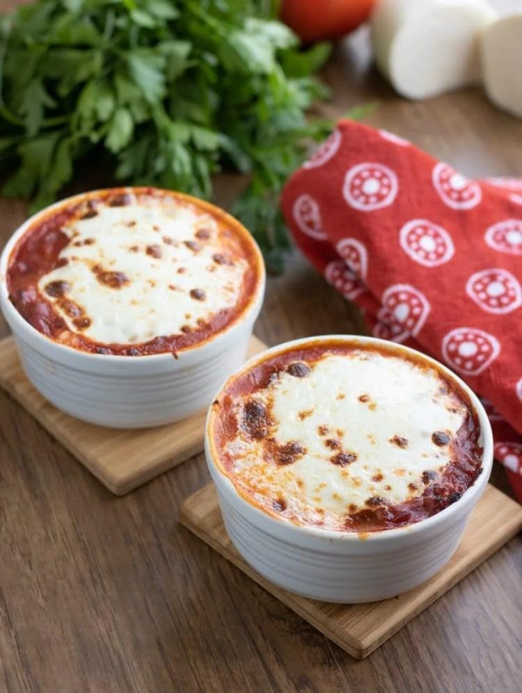 Keto Low Carb Lasagna Bowls