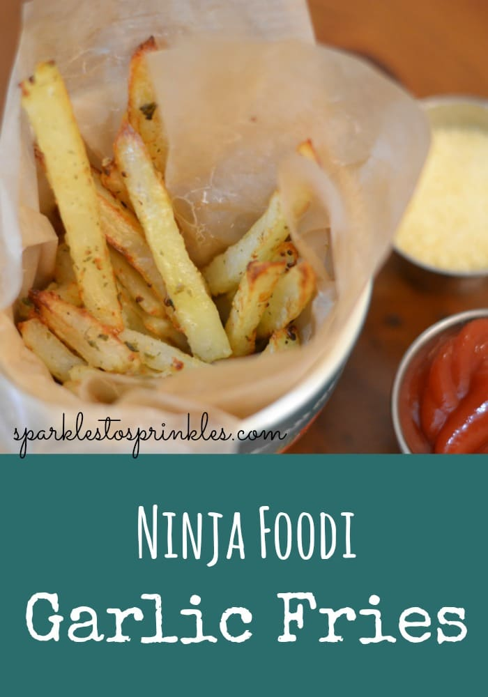 Ninja Foodi Garlic Fries