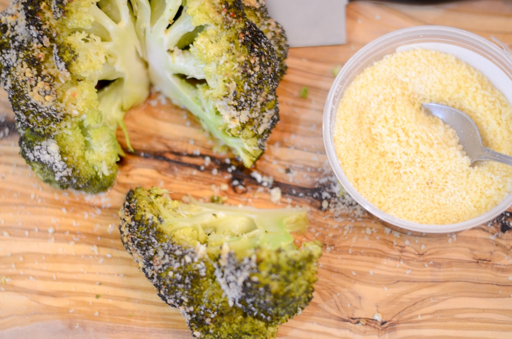 Instant Pot Italian Parmesan Whole Roasted Broccoli