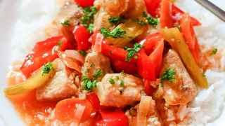 INSTANT POT HONEY SRIRACHA PORK [Freezer Meal!} |The Salty Pot
