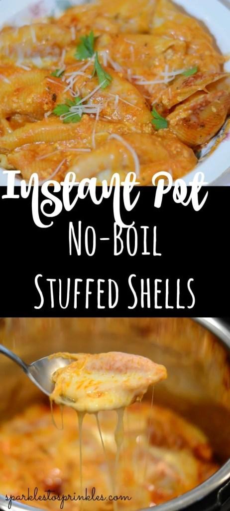 Instant Pot No-Boil Stuffed Shells