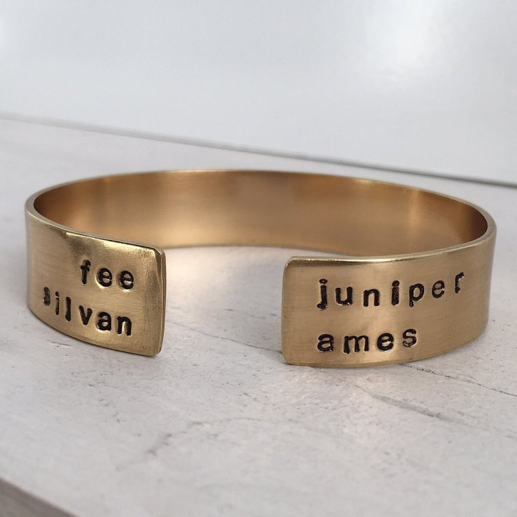 Thick Personalized Cuff