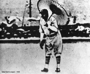 Babe Ruth in Japan