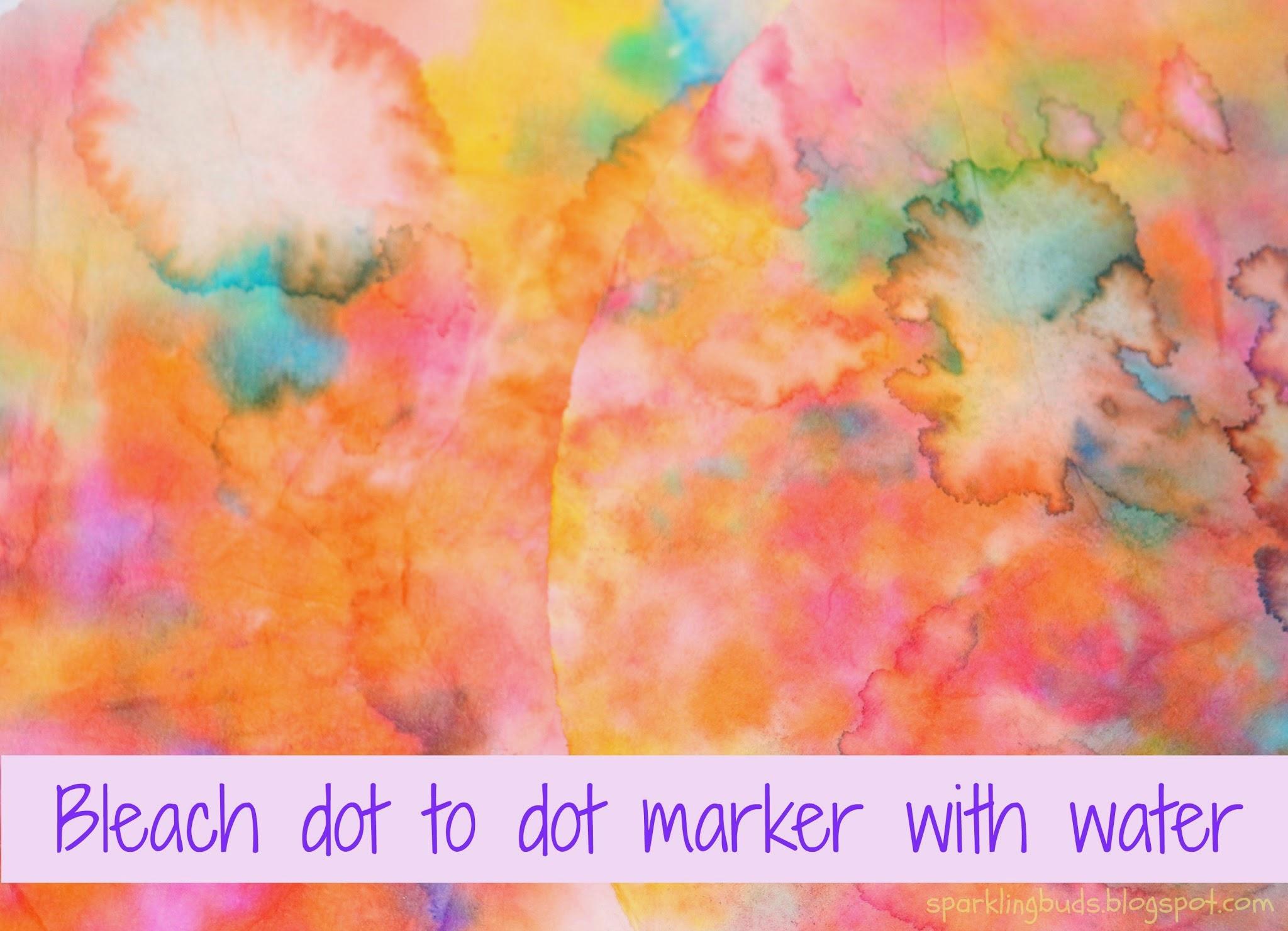 Bleach Dot To Dot Marker Paintings Sparklingbuds