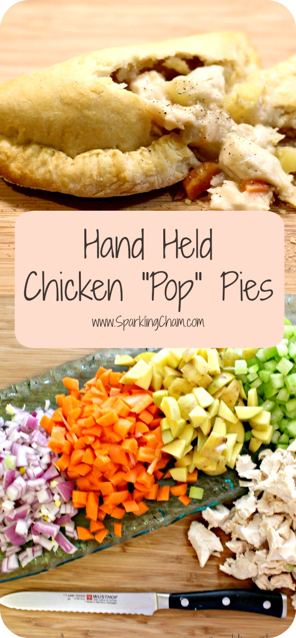"Hand Held Chicken ""Pop"" Pie"