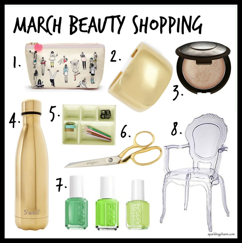 March Beauty Shopping