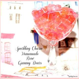 Homemade Rosé Gummy Bears
