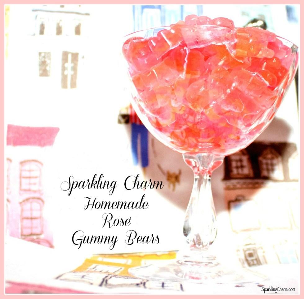 Homemade Rose' Gummy Bears