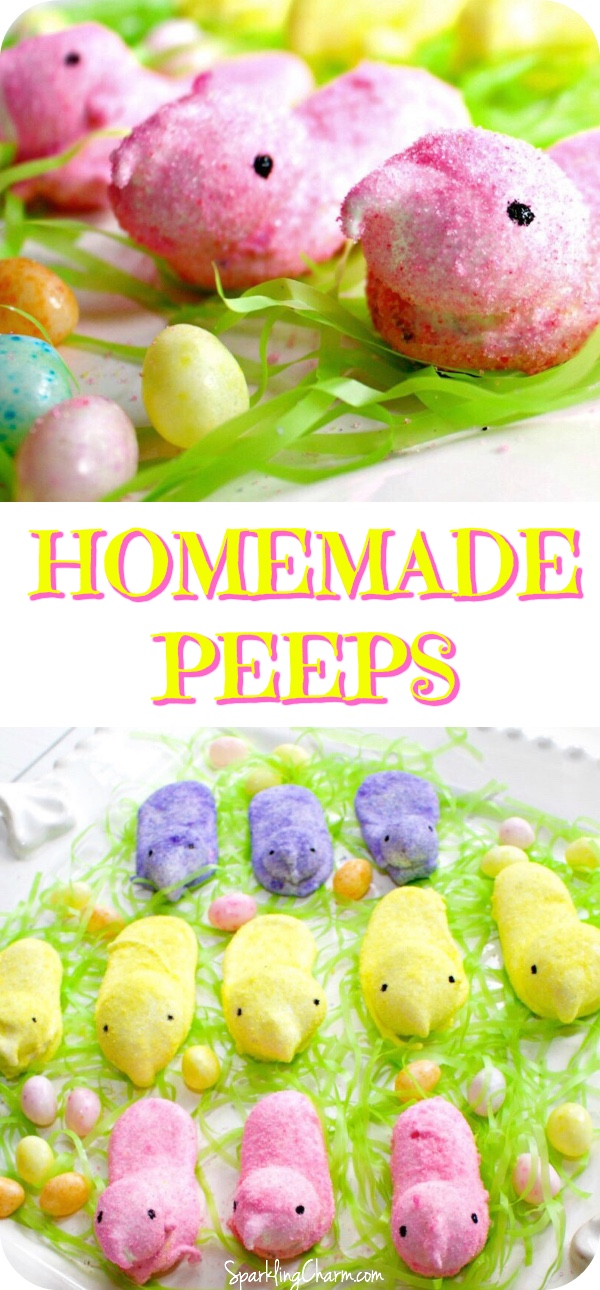 PIN IT Chillin' with my Peeps - Homemade Marshmallow Peeps