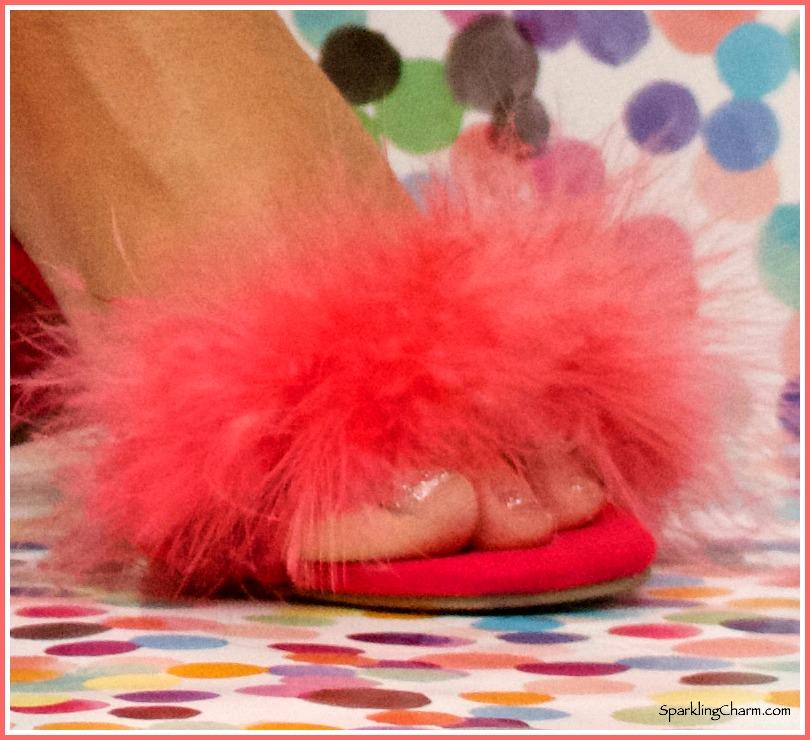 DIY Shoe Do's: Sparkling Charm Zsa Zsa's