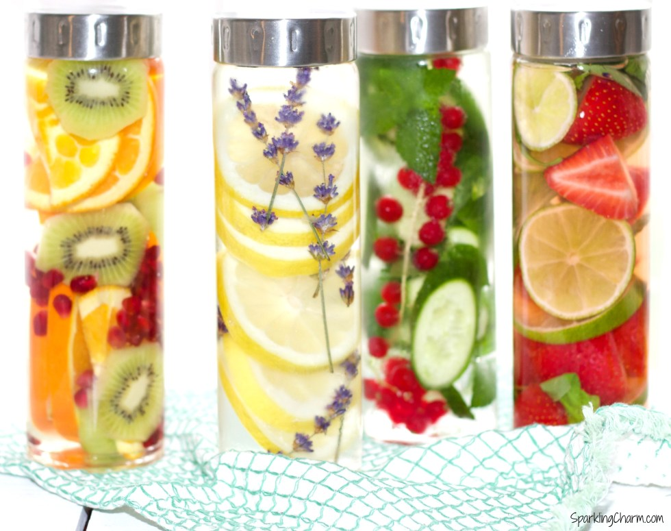 DIY Spa Water: Pretty Hydration