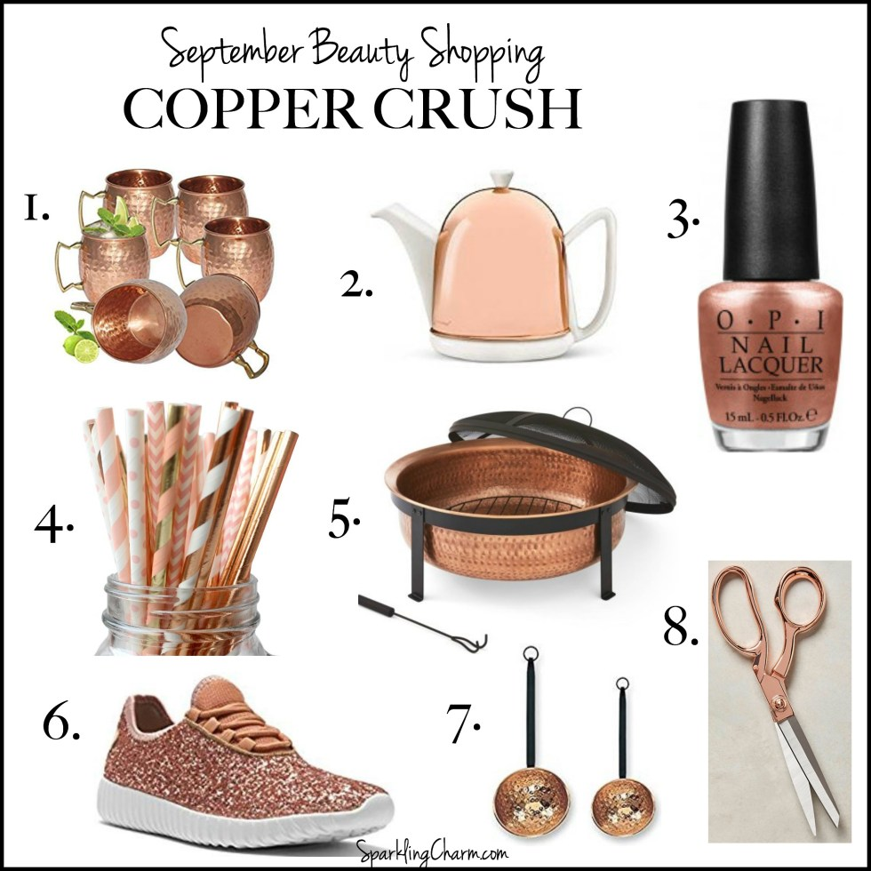 September Beauty Shopping: Copper Crush