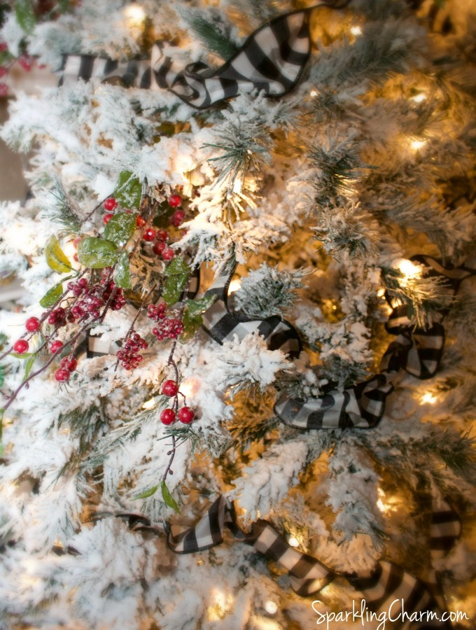 DIY: How to Flock A Christmas Tree! Simple Vintage Charm