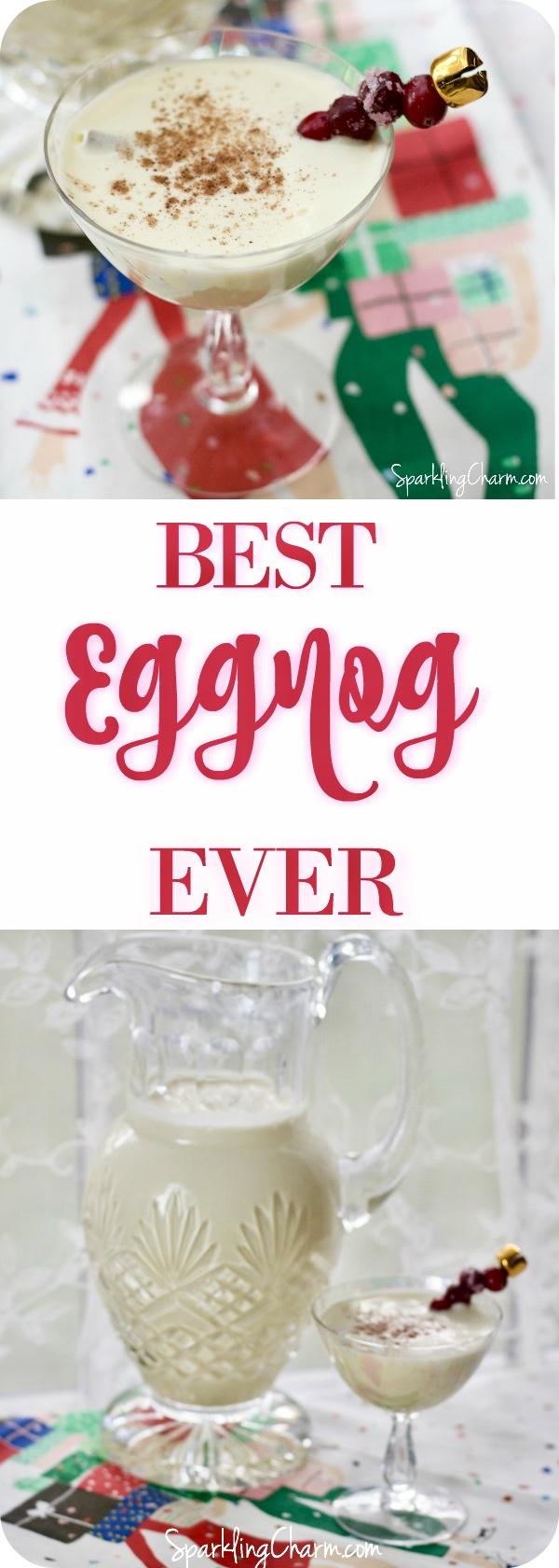 Christmas on the Flint River Eggnog, The Best Homemade Eggnog Ever