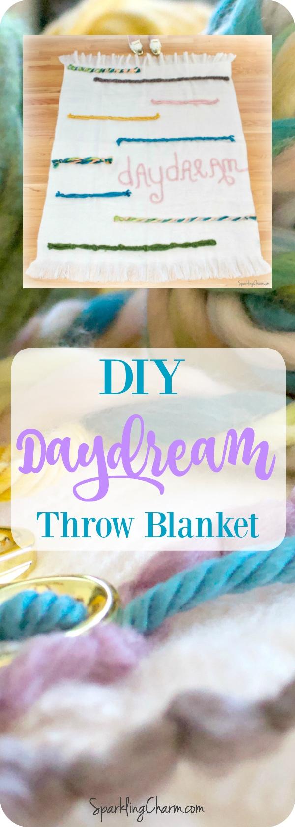 DIY Daydream Throw Blanket