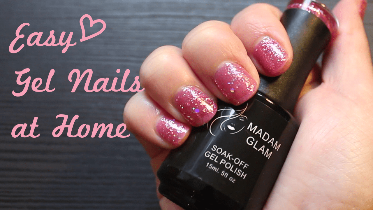 Gel Nails at Home (Easy!) & Madam Glam Review - Dancer Beauty ...