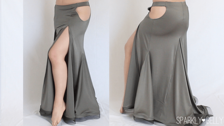 Aurora Convertible Skirt naked cutout