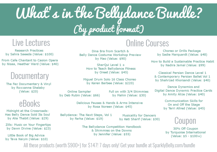 The Bellydance Bundle by product format