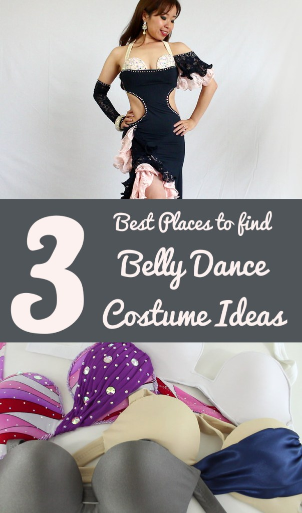 3 best places to find belly dance costume ideas