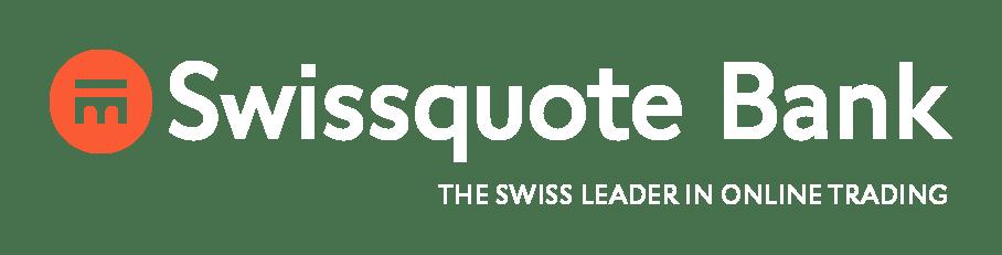 Swissquote Bank Logo Sparkojote Weiss