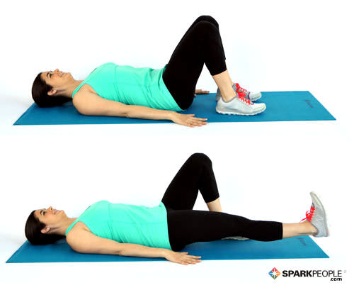 Image result for Seated Alternating Leg Extension Abs