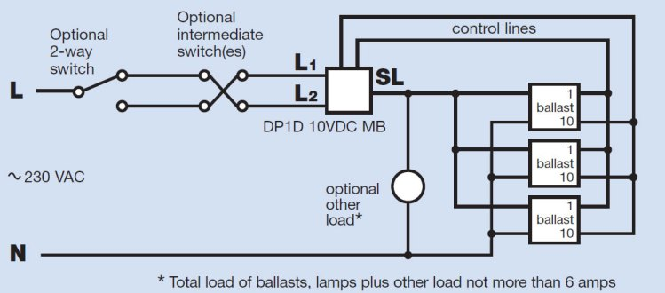 Cool The Danlers Dp1D 10Vdc Mb Manual High Frequency Dimmer For Multiple Wiring Cloud Philuggs Outletorg