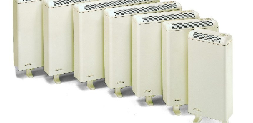 The most cost effective form of electric central heating uses night storage heaters