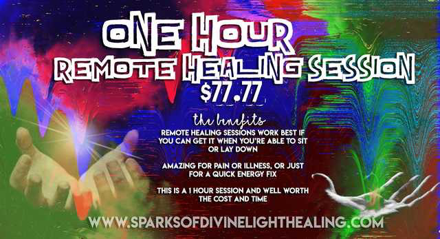 1 Hour Remote Healing Session
