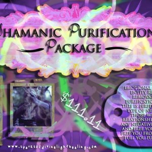 Shamanic Purification Package