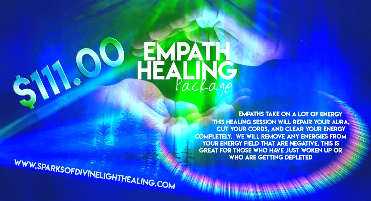 Empath Healing Package