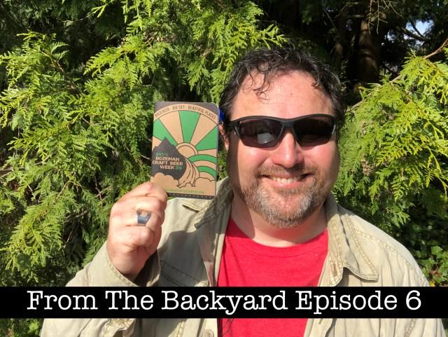 Go on Adventures! From The Backyard Episode 6 Steven Shomler