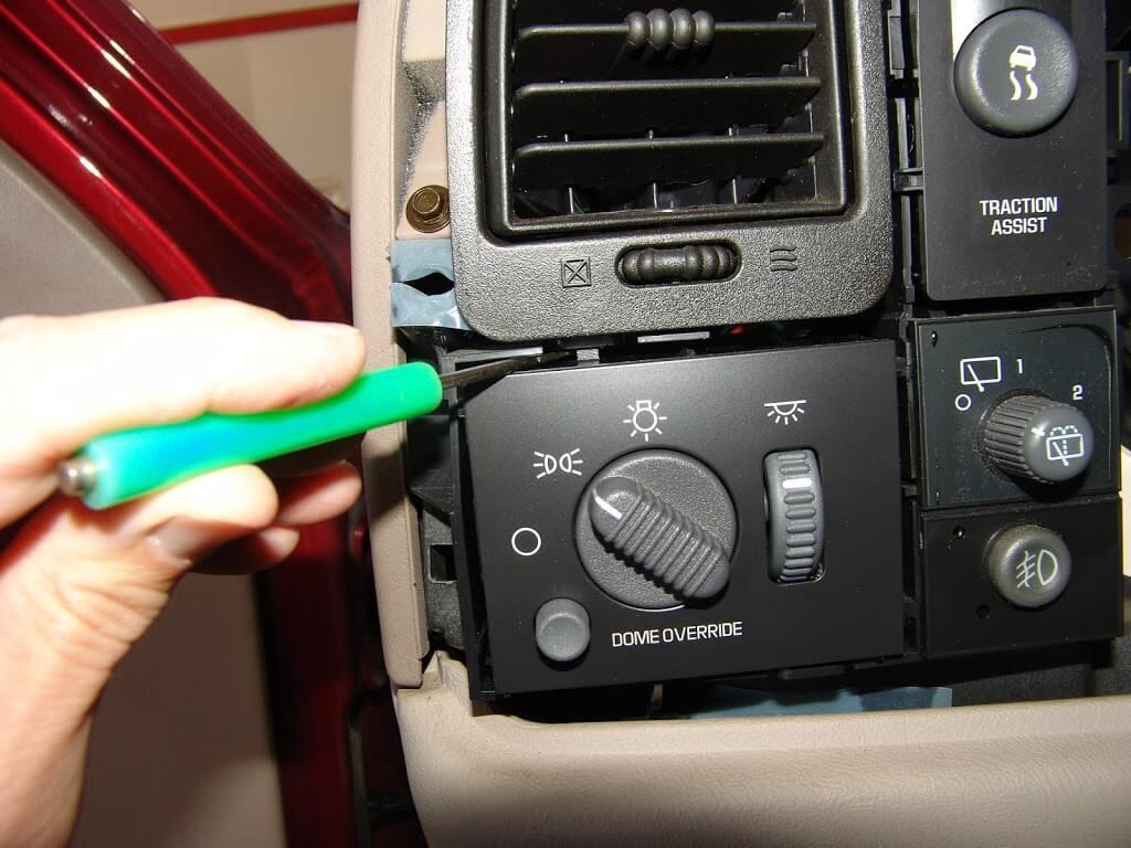 2002 Chevrolet Z71 Dash Lights