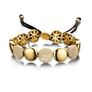 Armband Grace Big goud