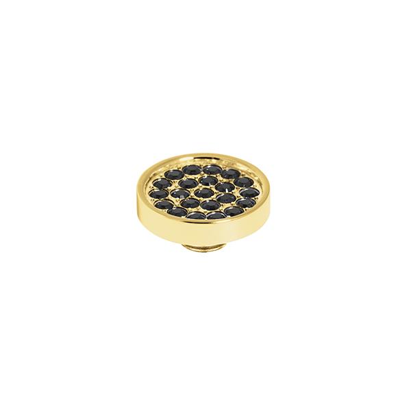 Melano vivid cz plate steen 12 mm black - Te koop bij Sparnaaij Juweliers in Aalsmeer en Hoofddorp
