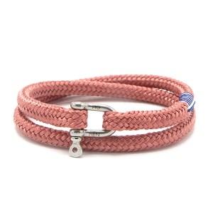 Pig & Hen armband - Salty Slim High Summer '19 Salmon silver - Te koop bij Sparnaaij Juweliers in Aalsmeer en Hoofddorp