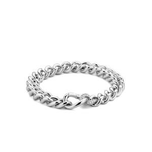 Zilveren gourmet armband van Ti Sento - Te koop bij Sparnaaij Juweliers in Aalsmeer en Hoofddorp