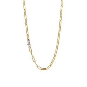 18k goud verguld closed forever collier van Ti Sento - Te koop bij Sparnaaij Juweliers in Aalsmeer en Hoofddorp